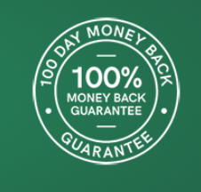 100 Day Money Back Guarantee