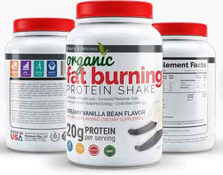 Maximum Slim Organic Fat Burning Protein Shake