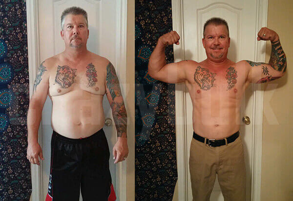 HGH-X2 Before and After Results