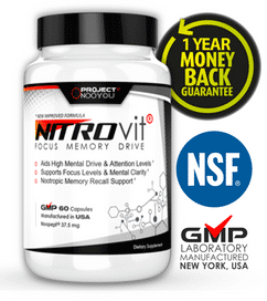 Nitrovit Quality - 1 year money back guarantee