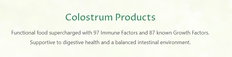 Immune Tree Colostrum 6 Features