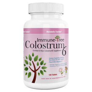 Immune Tree Colostrum 6 Strawberry Moo Chew