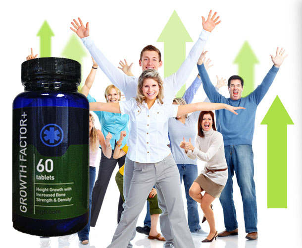 Growth Factor Plus the height and bone density improving supplement