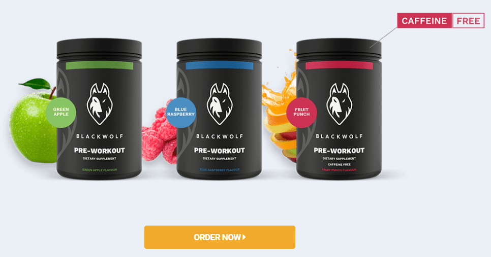 BlackWolf Preworkout For Sale - Order Now