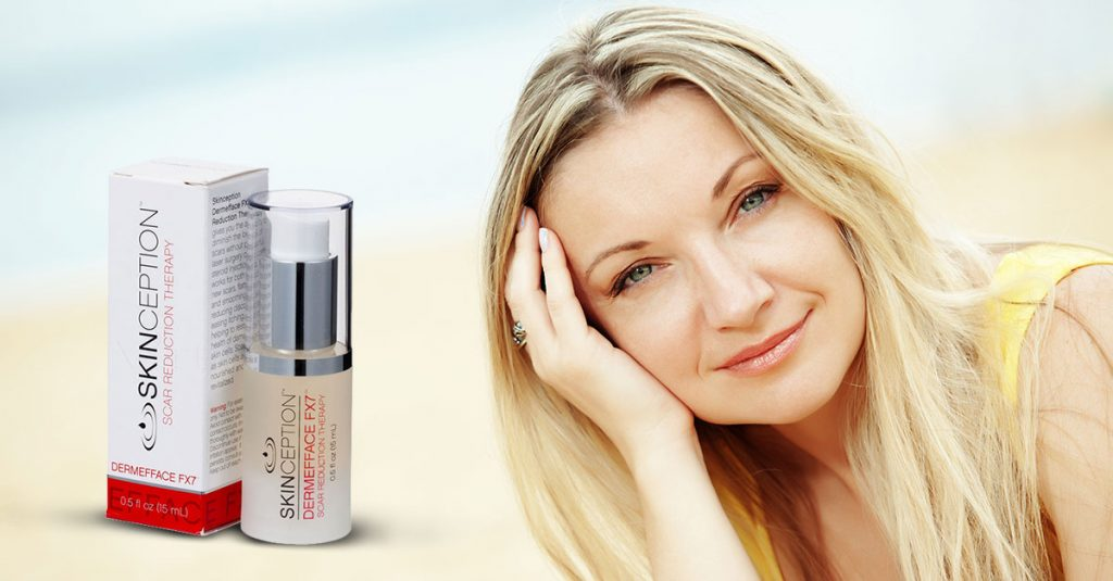 Dermefface FX7 for Scar Free Skin