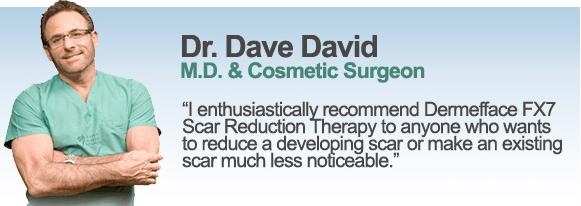Doctor Dave David on Dermefface FX7