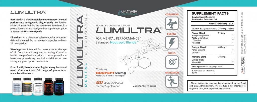 LumUltra Label