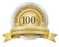 100 percent satisafaction guarantee