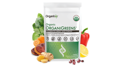 Organi Greens Larry Beinhart